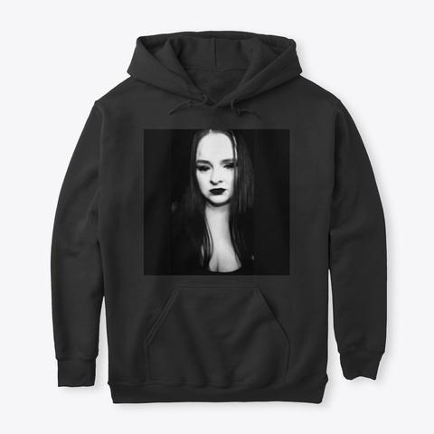 Goth Cosplay Hoodie Black Camiseta Front