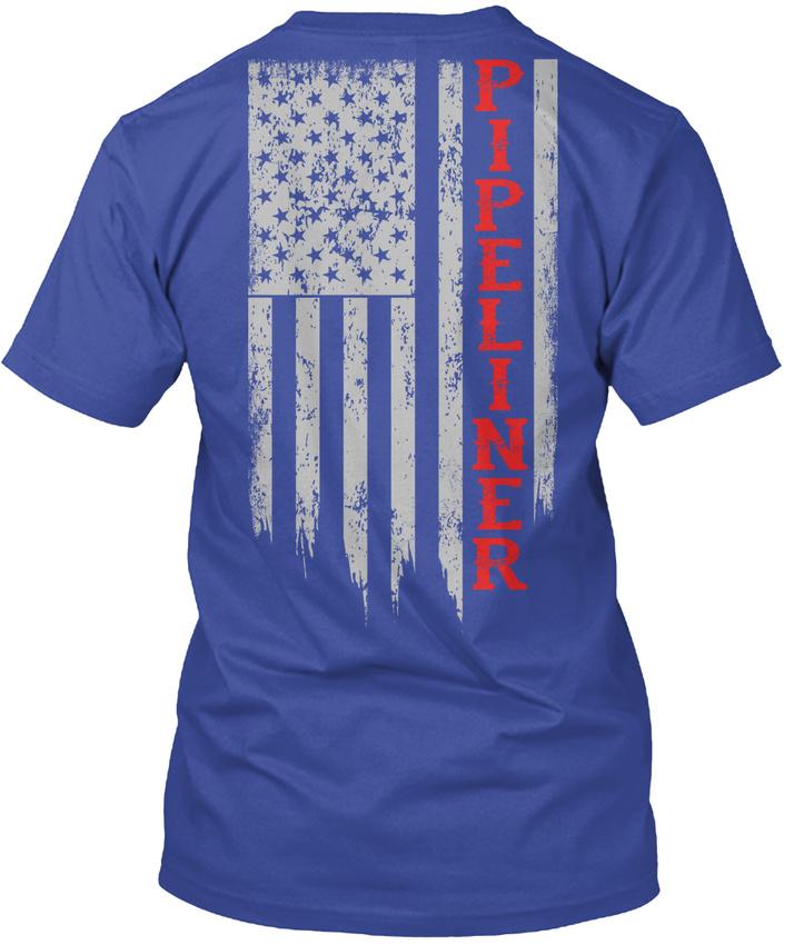 Pipeliner-Us-Flag-Hanes-Tagless-Tee-T-Shirt thumbnail 9