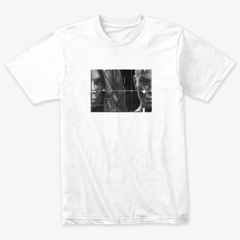 Non Sum Heather White T-Shirt Front