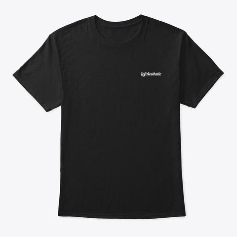 Eat Sleep Chill Repeat: Palm Dark Black T-Shirt Front
