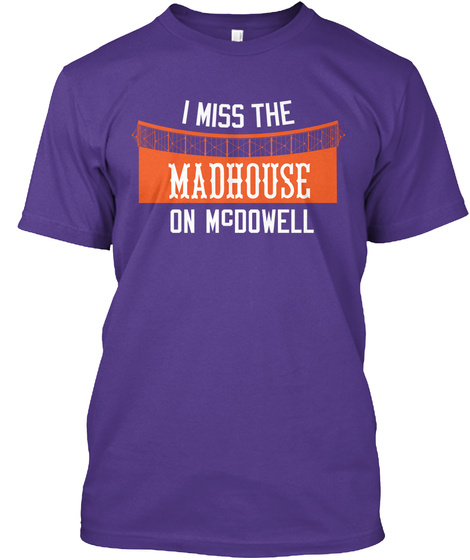 Naming Wrongs: Madhouse (Purple) Purple T-Shirt Front