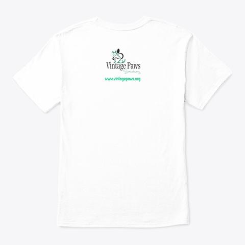 #Olddogsrock White T-Shirt Back