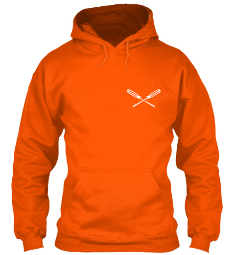 Plumber Becoming A Legend Safety Orange T-Shirt Front
