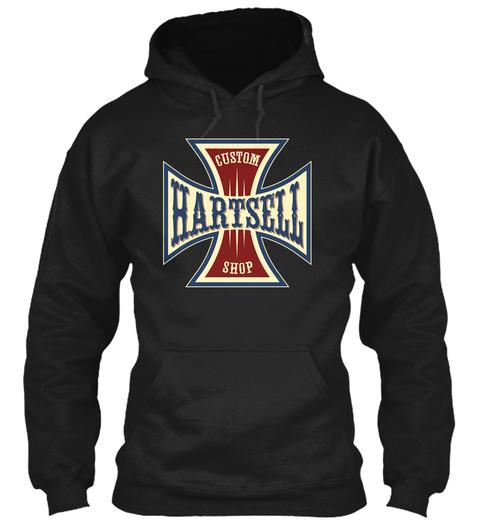 Hartsell Custom Shop Black T-Shirt Front