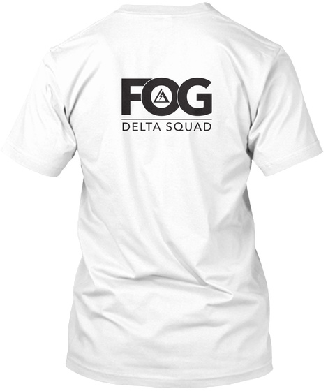 Fog Delta Squad White T-Shirt Back