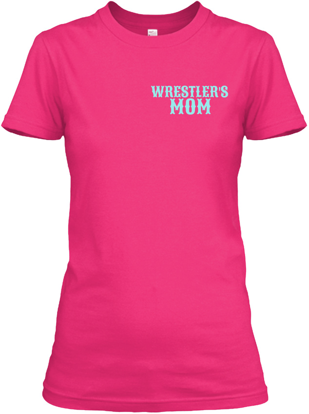 Tough-Crazy-Wrestling-Mom-Wrestlers-Mom-Gildan-Women-039-s-Tee-T-Shirt thumbnail 10