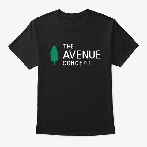 We Make Public Art Happen Black T-Shirt Front