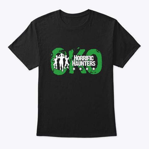 Cko Horrific Haunters Black T-Shirt Front