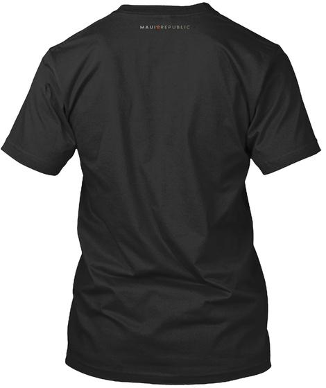 Hawaiian Kingdom National Coat Of Arms Black T-Shirt Back