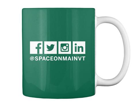 Som Kc Revitalize Mug Forest Green Mug Back