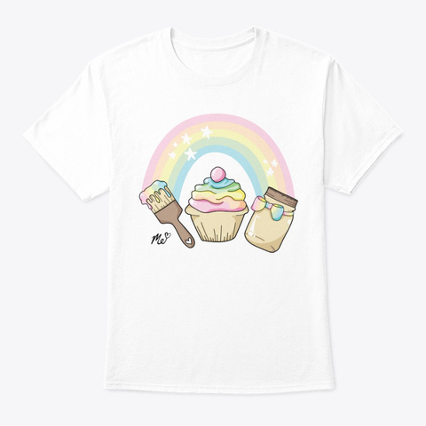 Art. Crafts. Squishies White T-Shirt Front