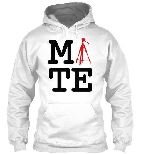 Soulmate Couple Female Tripod White Sweatshirt Front