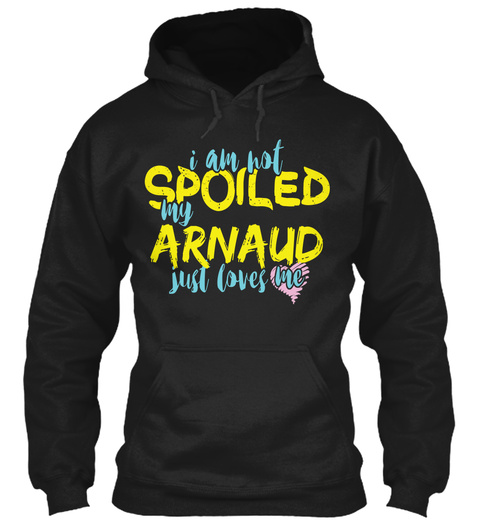 Arnaud  Black T-Shirt Front