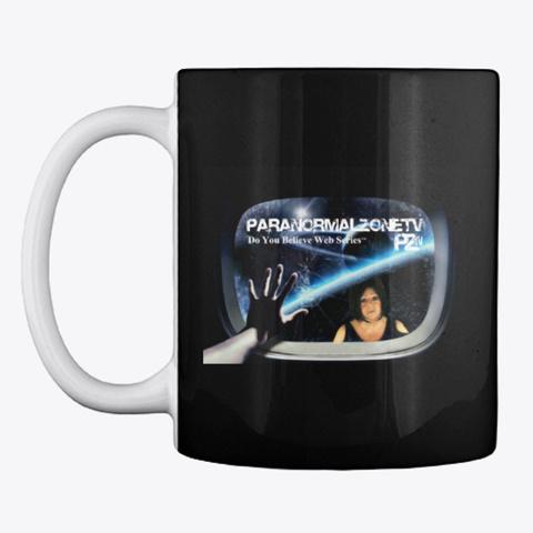 Paranormal Zone.Tv   Merch Store Black Mug Front