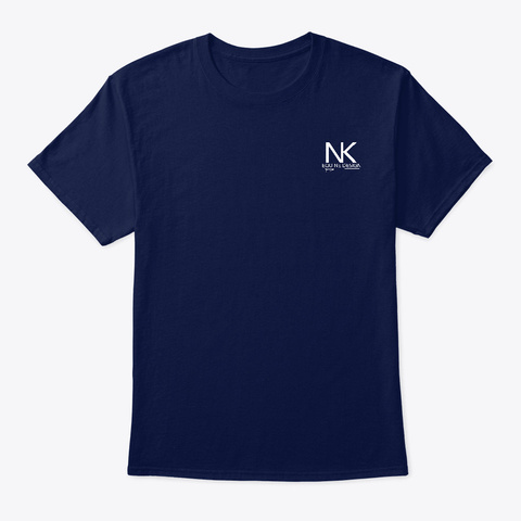 The Course Navy T-Shirt Front