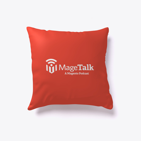 The Mage Talk Expert Napper(Tm) Red T-Shirt Front