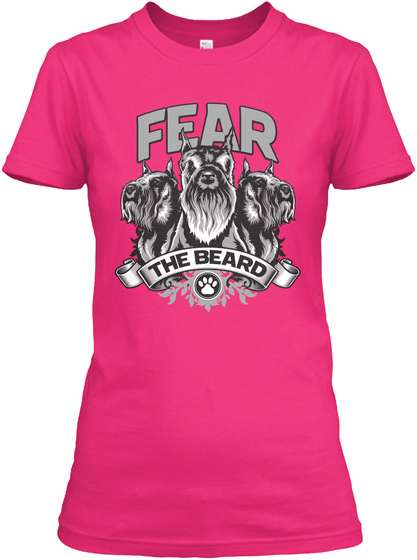 Fear The Beard  Heliconia T-Shirt Front