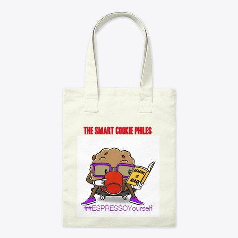 Buy A Tote; Support A Teacher Natural T-Shirt Front