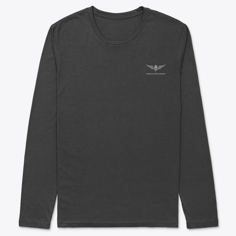 Pdc Long Sleeve Will Dance Shirt Black T-Shirt Front