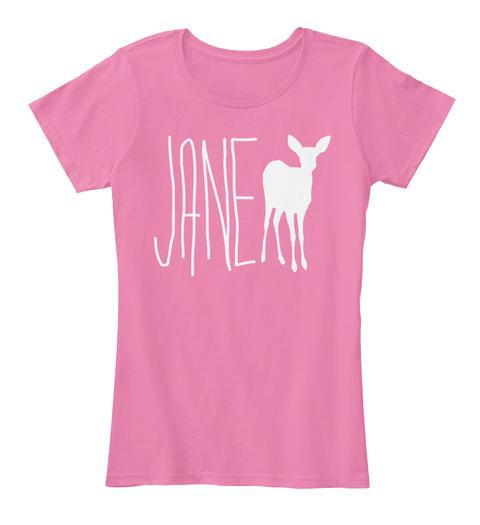 Life Is Strange   Jane Doe True Pink T-Shirt Front