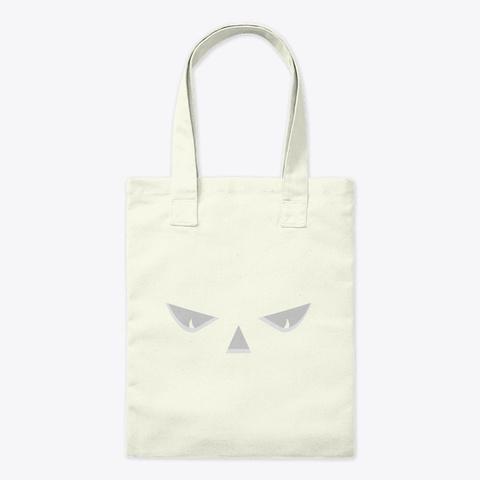 Spooky Jack O Lantern Eyes Halloween Cos Natural T-Shirt Front