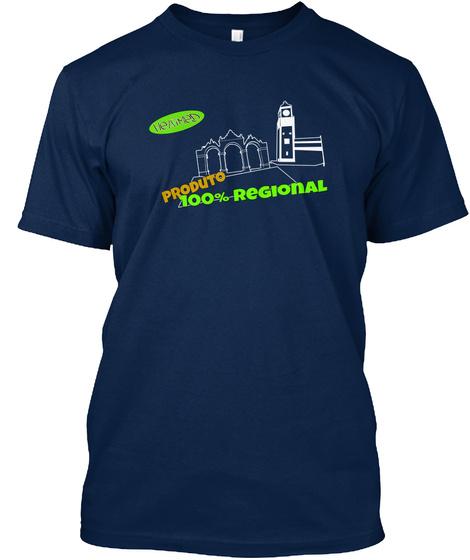 Portas Da Cidade Navy T-Shirt Front
