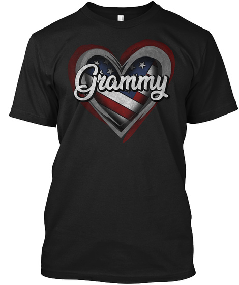 Grammy Black T-Shirt Front
