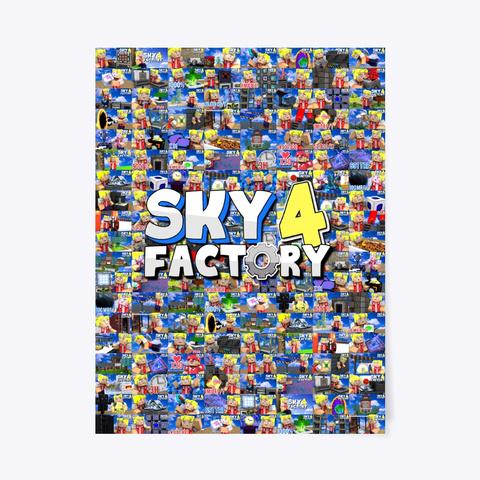 Sky Factory 4 Thumbnail Poster Standard T-Shirt Front