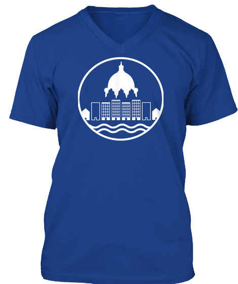 Build More Homes In St. Paul True Royal T-Shirt Front