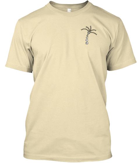 Goofy Palm Cream T-Shirt Front