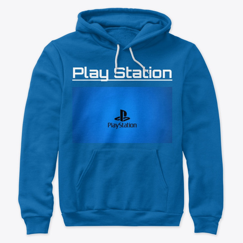 Play Station True Royal T-Shirt Front