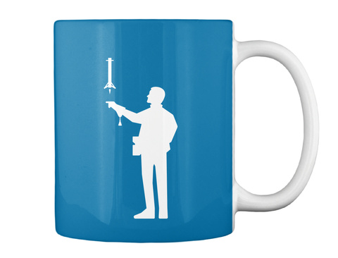 Falconer 2 Man Mug [Int] #Sfsf Royal Blue Mug Back