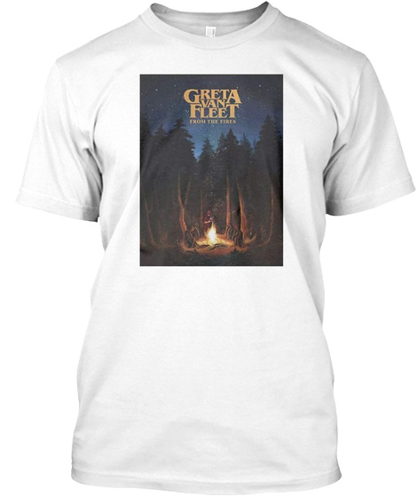 on feet at latest design colours and striking greta van fleet shirt Tee