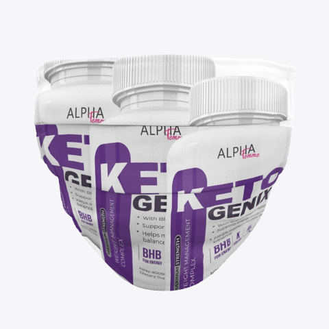 Alpha Femme Keto Genix Standard T-Shirt Front