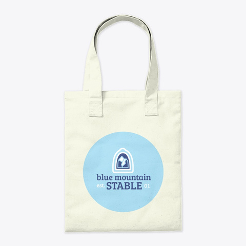 Customize Alll The Ponies   Tote Bag Natural T-Shirt Back