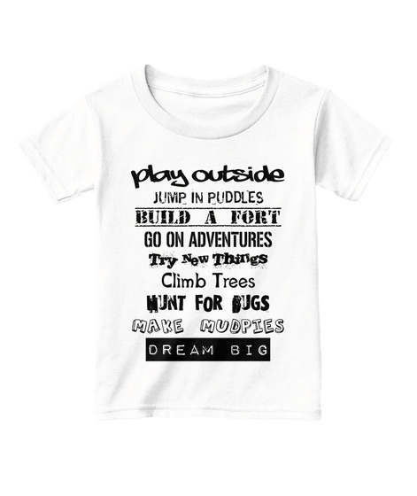 d1d3695408184 Play Outside - Kids Shirt