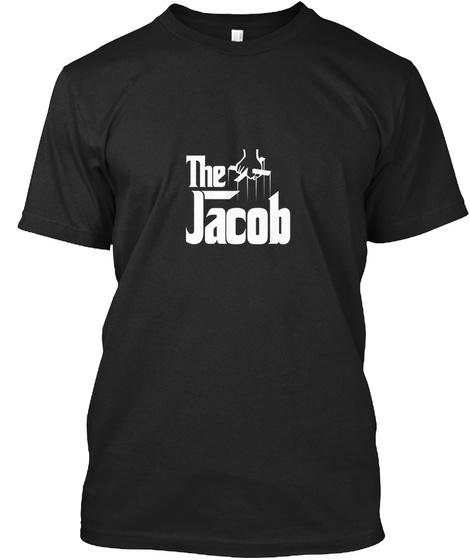 Jacob The Family Tee Black T-Shirt Front