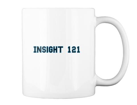 Insight 121 White T-Shirt Back