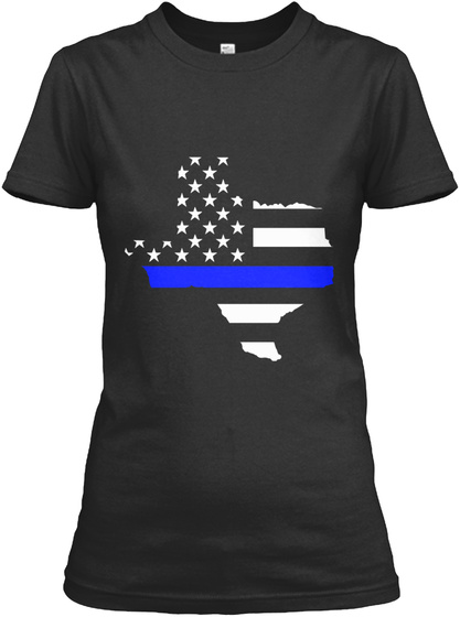 Texas thin blue line products from thin blue line state for Texas thin blue line shirt