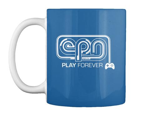 The First Epn Mug!! Dk Royal Mug Front