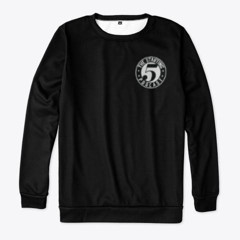 Starting 5 Sweatshirt Black Camiseta Front
