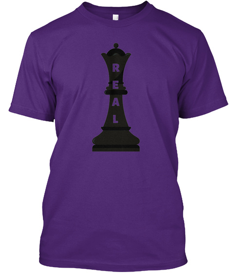 Real Queen  Purple T-Shirt Front