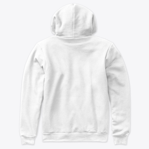 I Love Jesus White T-Shirt Back