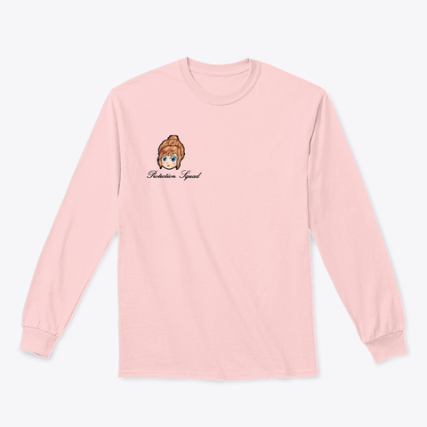Winter Protection Squad Light Pink T-Shirt Front