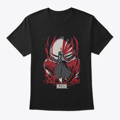 Bleach Ichigo Black T-Shirt Front