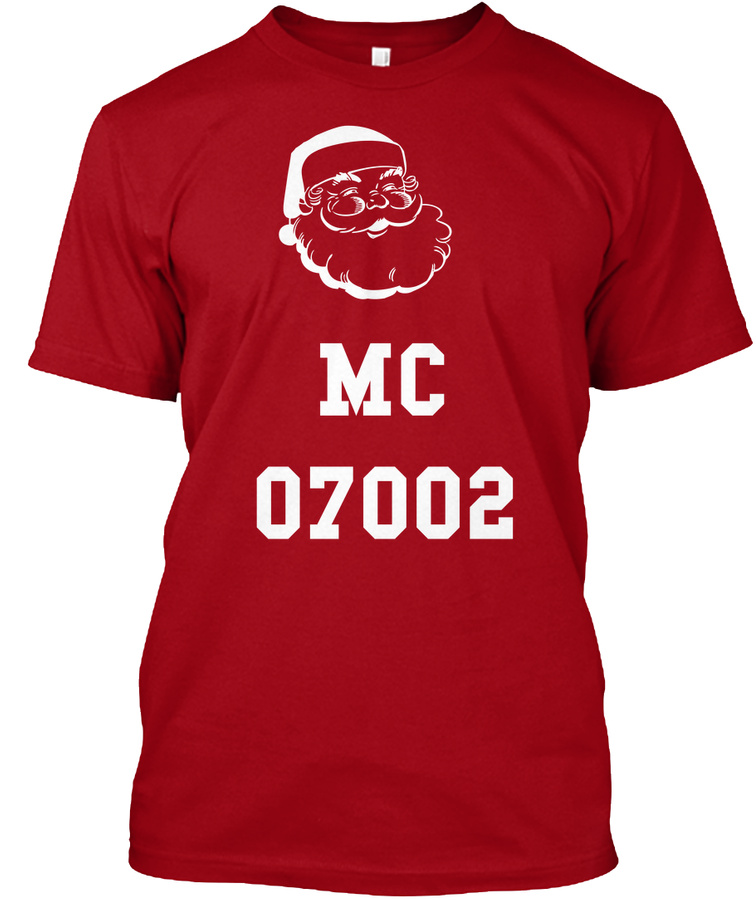 07002 Bayonne NJ Christmas Unisex Tshirt