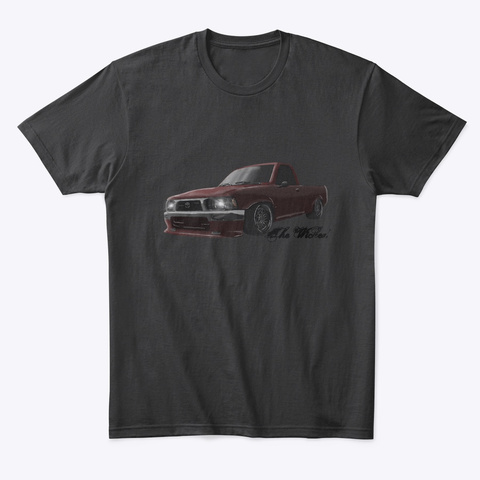 The Wicked Hilux Black T-Shirt Front