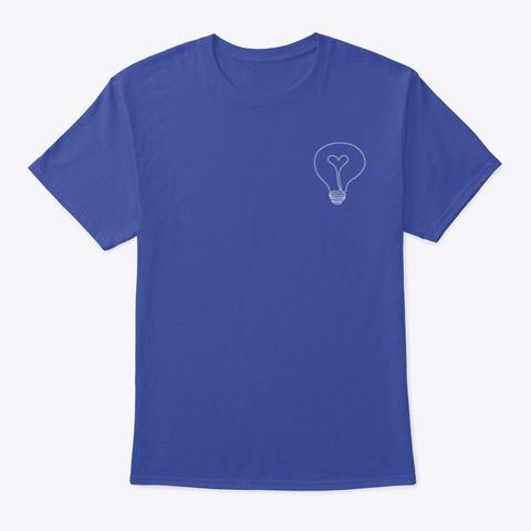 Love&Light Deep Royal T-Shirt Front