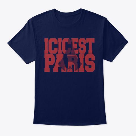 tee shirt ici c'est paris