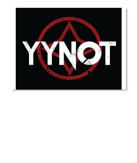 Yynot Stickers White T-Shirt Front